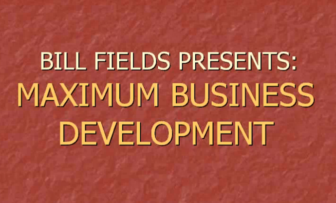 View Bill Fields Learning Systems Maximum Business Development